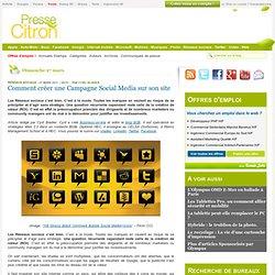 Comment créer une Campagne Social Media sur son site