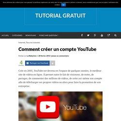 Comment créer un compte YouTube