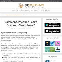 Comment créer une image map sous WordPress ?