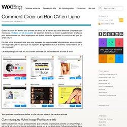 Comment Créer Bon un CV en Ligne - Le Blog Officiel de Wix