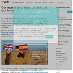Comment créer un menu multilingue pour votre site