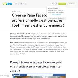 Comment créer une page Facebook ?
