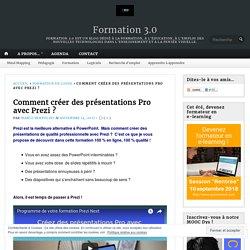 Comment créer des présentations Pro avec Prezi