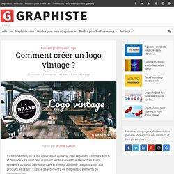 Comment créer un logo vintage?