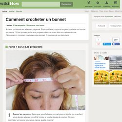 Comment crocheter un bonnet: 10 étapes
