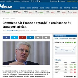 Comment Air France a retardé la croissance du transport aérien