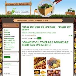 Comment cultiver des pommes de terre sur son balcon