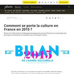 Comment se porte la culture en France en 2015?