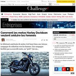 Comment les motos Harley Davidson veulent séduire les femmes