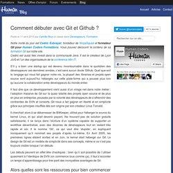 Comment débuter avec Git et Github ?