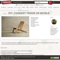 Palettes d i y pearltrees for Vernir un meuble peint