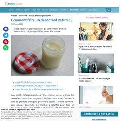 Comment faire un déodorant naturel ? - Améliore ta Santé