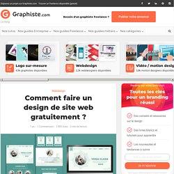 Comment faire un design de site web gratuitement?