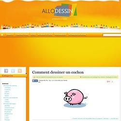 Comment dessiner un cochon