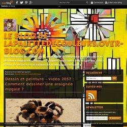 vidéo 2057 : Comment dessiner une araignée mygale ?