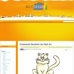Comment dessiner un chat #2