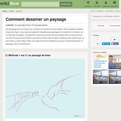 Comment dessiner un paysage: 9 étapes