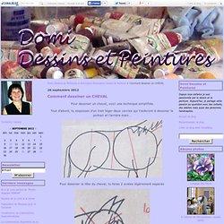 Comment dessiner un CHEVAL - Domi Dessins et Peintures