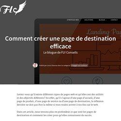 Comment créer une page de destination efficace