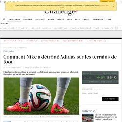 Comment Nike a détrôné Adidas sur les terrains de foot
