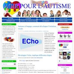 Comment développer le langage d'un enfant autiste