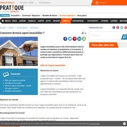Comment devenir agent immobilier ? - Formation