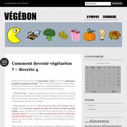 Pâté de pois chiches - Végébon