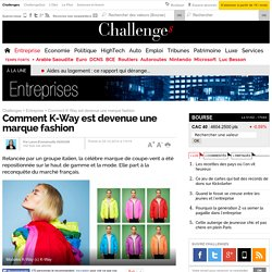 Comment K-Way est devenue une marque fashion - 25 octobre 2014