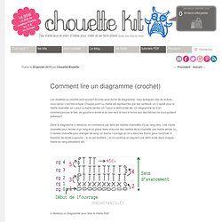 Comment lire un diagramme (crochet)