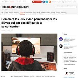 Comment les jeux vidéo peuvent aider les élèves qui ont des difficultés à se concentrer
