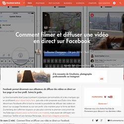 La vidéo en direct sur Facebook pour tous les utilisateurs - Tech
