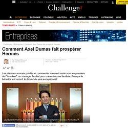 Comment Axel Dumas fait prospérer Hermès