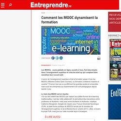 Comment les MOOC dynamisent la formation