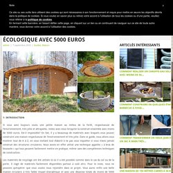 Construction habitat concept pearltrees for Cuisine 5000 euros