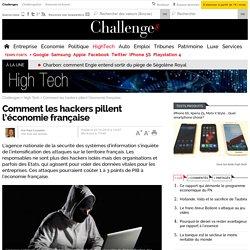 Comment les hackers pillent l'économie française