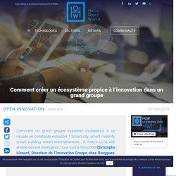Comment créer un écosystème propice à l'innovation dans un grand groupe