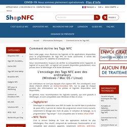 Comment écrire les Tags NFC - Shop NFC