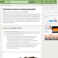 Comment écrire un essai persuasif: 20 étapes