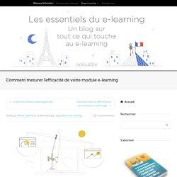 Comment mesurer l'efficacité de votre module e-learning
