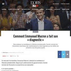 Comment Emmanuel Macron fait-il son «diagnostic»? Indice: il a besoin de linguistes