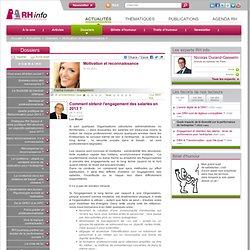 Comment obtenir l'engagement des salariés en 2013 ?