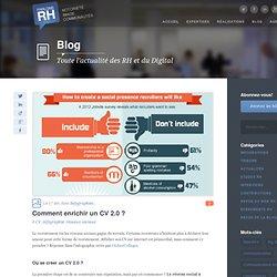 2013 - Enrichir un CV 2.0