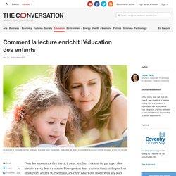 Comment lalecture enrichit l'éducation desenfants