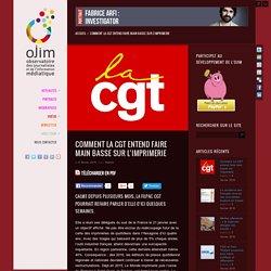 Comment La CGT entend faire main basse sur l'imprimerie
