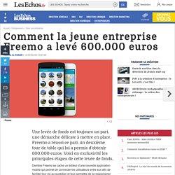 Comment la jeune entreprise Freemo a levé 600.000 euros