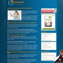 Comment créer une page web ergonomique pour le confort visuel des visiteurs?