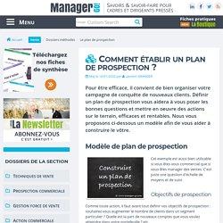 Comment établir un plan de prospection ?