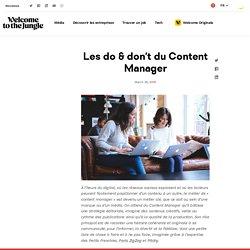 Comment être un bon Content Manager ?