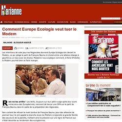 Comment Europe Ecologie veut tuer le Modem