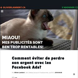Comment éviter de perdre son argent avec les Facebook Ads?